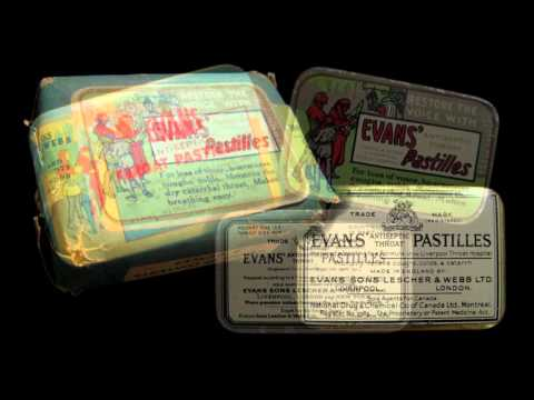 Antique Cough Drop Tin Collection