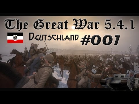 Lets Play NTW / The Great War 5.1 [Deutsch/HD+] #01