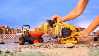 Excavator, dump truck, cranes   Car toy videos for kids -Toy for Kids