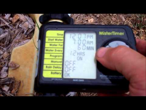 Mister Timer Review ~ For Irrigation and Misting Systems