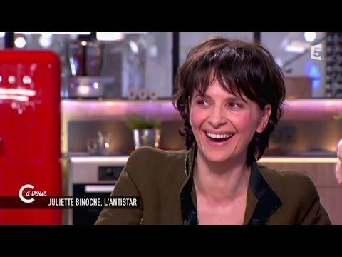 """Juliette Binoche sur les Césars """"c'était une torture"""" - C à vous - 04/05/2015"""