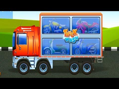 Truck Wash : Cartoon For Children | Trucks Kids Show | Toddlers Videos for Kids