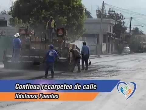 2° Etapa de Recarpeteo en Ildefonso Fuentes | Monclova, Coahuila