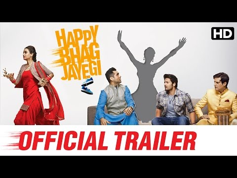 Happy Bhag Jayegi Official Trailer | Diana Penty, Abhay Deol, Jimmy Sheirgill, Ali Fazal