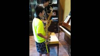 Yakety Sax with Great Student!