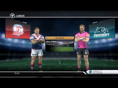 Rugby League Live 3 - Roosters Career (Round 3)