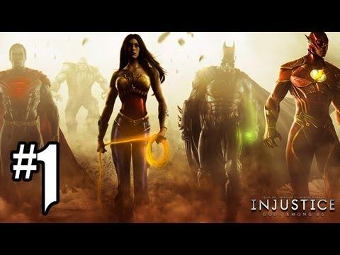 Injustice Gods Among Us Gameplay Walkthrough Part 1 – Chapter 1: BATMAN (Injustice Gameplay HD)