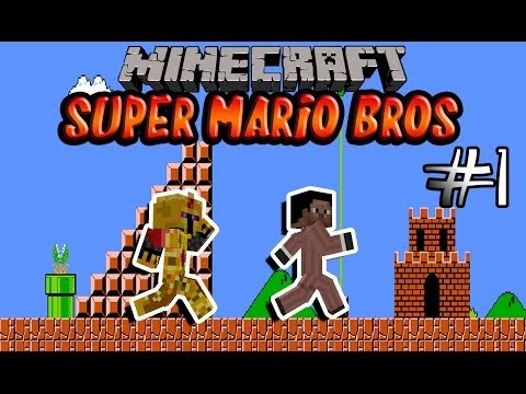 [FR]-Super Mario Bros Map-01[Minecraft 1.7.4]