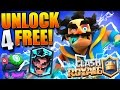 WIN FREE ELECTRO WIZARDS!! Clash Royale