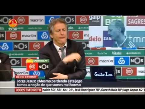 Scolari explica a Jorge Jesus como perdeu campeonato 2015/2016