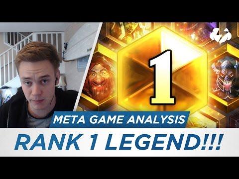 RANK 1 LEGEND! (Meta Game Analysis) [Hearthstone]