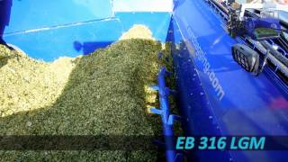 EURO BAGGING EB 316 LGM - selfpropelled silage bagger