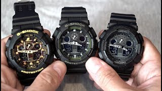 Fake Casio G-Shock GA-100 from Amazon! GA-100CF-1A9ER - Beware!