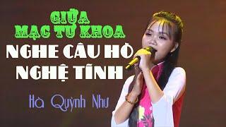 Giữa Mạc Tư Khoa Nghe Câu Hò Nghệ Tĩnh - Hà Quỳnh Như ( Gala Bay Lên Tuổi Thần Tiên THP)