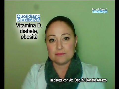 La vitamina D, il diabete e l'obesità. Anna Ranchelli