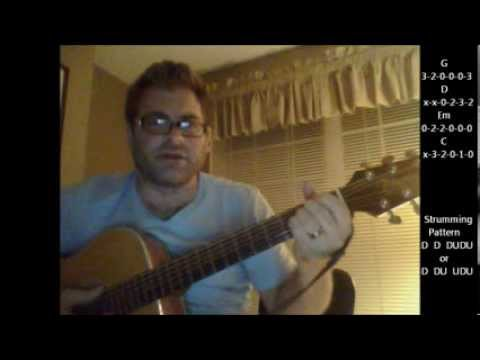 How To Play we Didn't Start The Fire By Billy Joel On Acoustic Guitar (made Easy) video