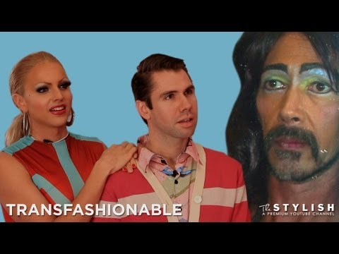 STRAIGHT HUSBAND GOES DRAG: TRANSFASHIONABLE