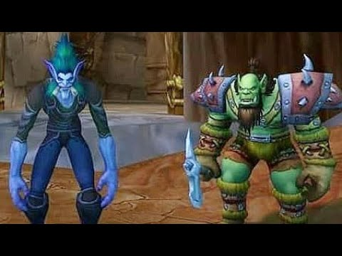 Mazza666Gaming Live - World Of Warcraft - New Troll Shaman Character