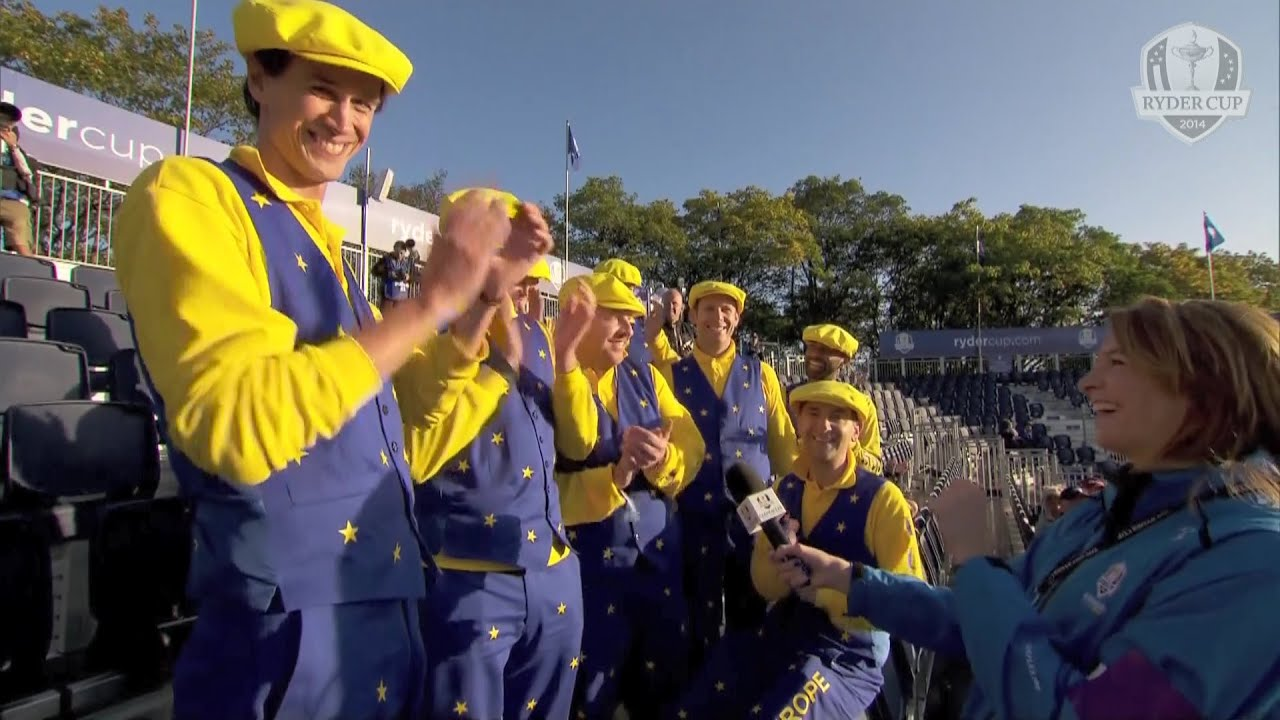Ryder Cup Fans Fans on The 1st Tee Ryder