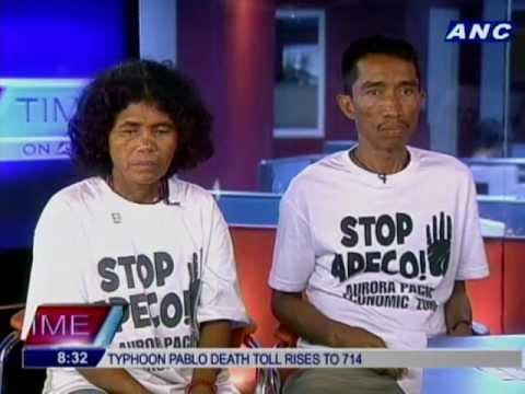 Casiguran residents: Aquino seems to favor APECO