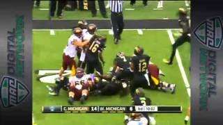 11/16/2013 Central Michigan vs Western Michigan Football Highlights