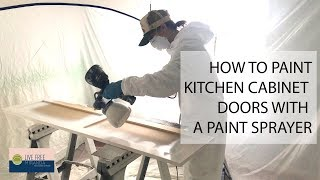 How to Paint Kitchen Cabinets with a Sprayer: Our Richmond Fixer Upper