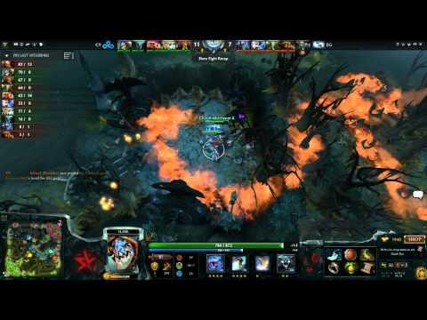 Cloud9 vs Evil Geniuses, DreamLeague America, Game 3