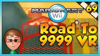 Mario Kart Wii Custom Tracks - IMPOSTOR JUSTIN?! - Road To 9999 VR | Ep. 69