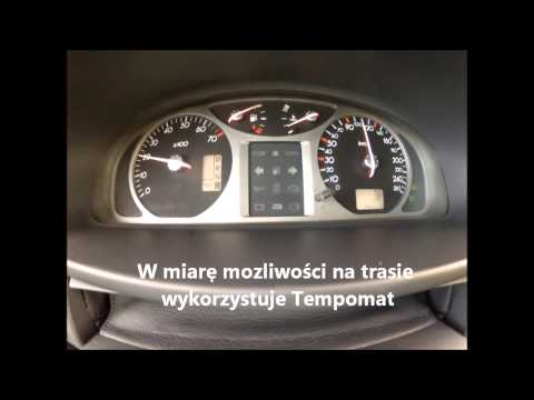 Spalanie trasa Renault Laguna II 3.0 V6 - test spalania. ile pali?