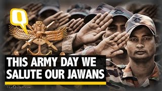 The Quint: The Glorious History Behind India's Army Day Celebrations