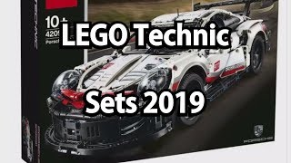 LEGO Technic Sets 2019 (Klemmbausteinlyrik News)