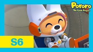 Pororo Season 6   #23 Eddy's Trip to the Moon   Who wants to go to the moon with Eddy?