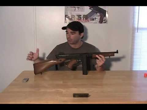 Thompson M1A1 AEG By Softair/Cybergun Airsoft Review