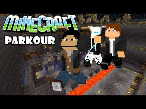 Minecraft Parkour #1 #2 | Muchas palabrotas.