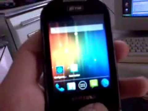 Instalando android 2.3.7 no galaxy 5 pra quem tem a rom original de fabrica