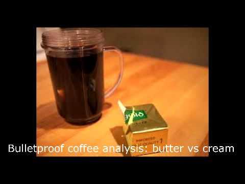 John Kiefer on Bulletproof Coffee: butter vs cream