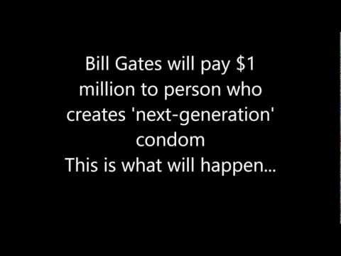 Condom for Bill Gates