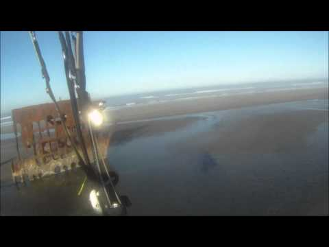 Oregon Coast PPG Iredale shipwreck