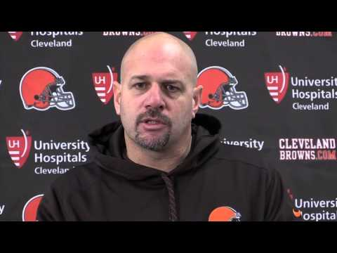 Reaction from Mike Pettine after Browns loss to the Ravens