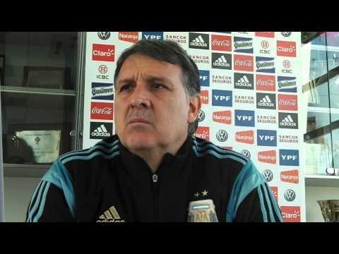 Los Andes mano a mano con Gerardo Martino, DT de la Selección Argentina I