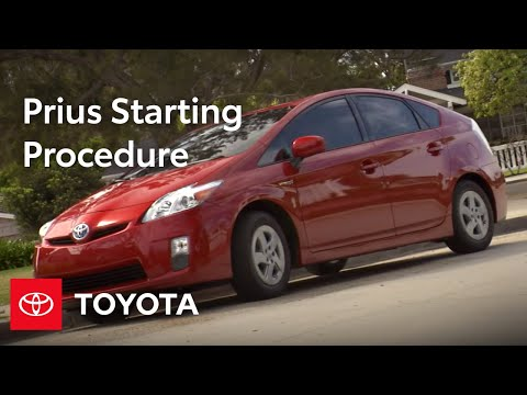 Prius How-To: Starting Procedure | 2010 Toyota Prius