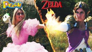 ゼルダ姫とピーチ姫 姫同士の熱きリアルバトル!