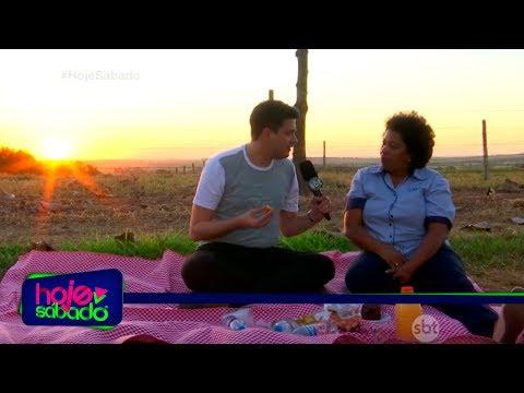 Hoje Sábado - De Carona com Zani - Vanilde Silva 29/07/17