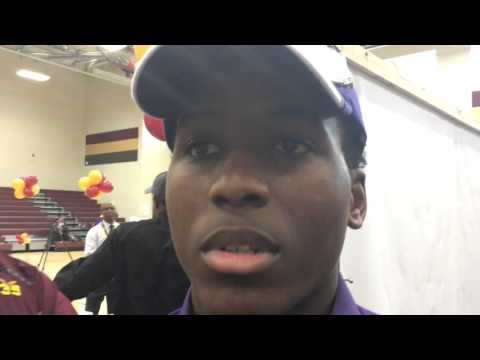 Sydney Wilson discusses signing with Miles College