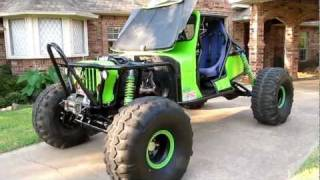 Extreme Rock Crawler Jeep  for sale Atlas, King Coil Over shocks, One ton axles, PSC Steering