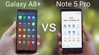 One UI Comparison | Redmi Note 5 Pro VS Galaxy A8 Plus