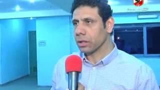 تعليق سمير كمونه عقب مباراه الاهلى والرجاء