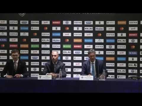 Сочи - Адмирал: пресс-конференция 3.09.2018