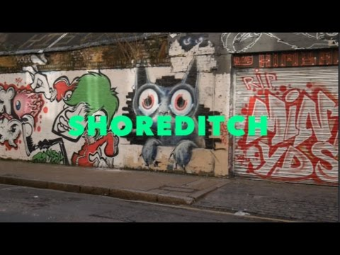 A Mini Tour of Shoreditch, London - Graffiti, Vintage Shops, Food