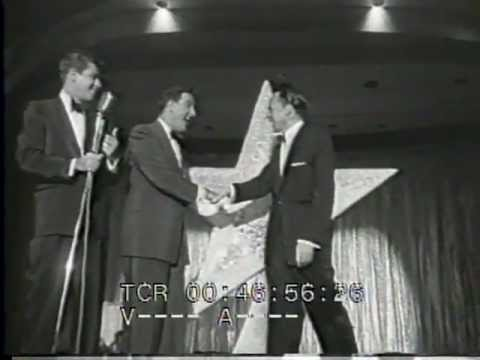 Sands Las Vegas 4th Anniv Party 1956 Frank Sinatra Jerry Lewis Danny Thomas Jayne Mansfield